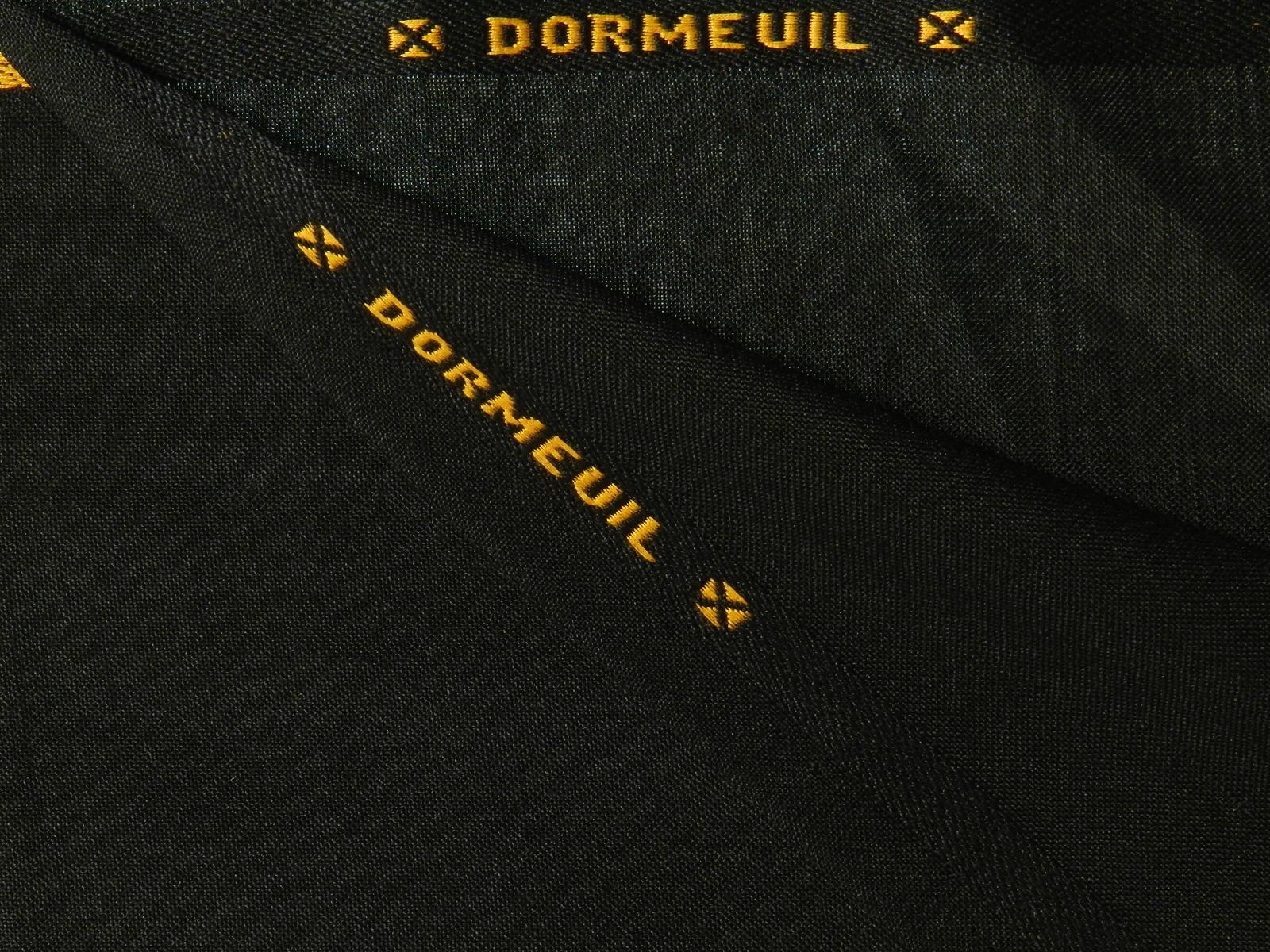 DORMEUIL(ドーメル) / ブラック 系 / 織り柄 系