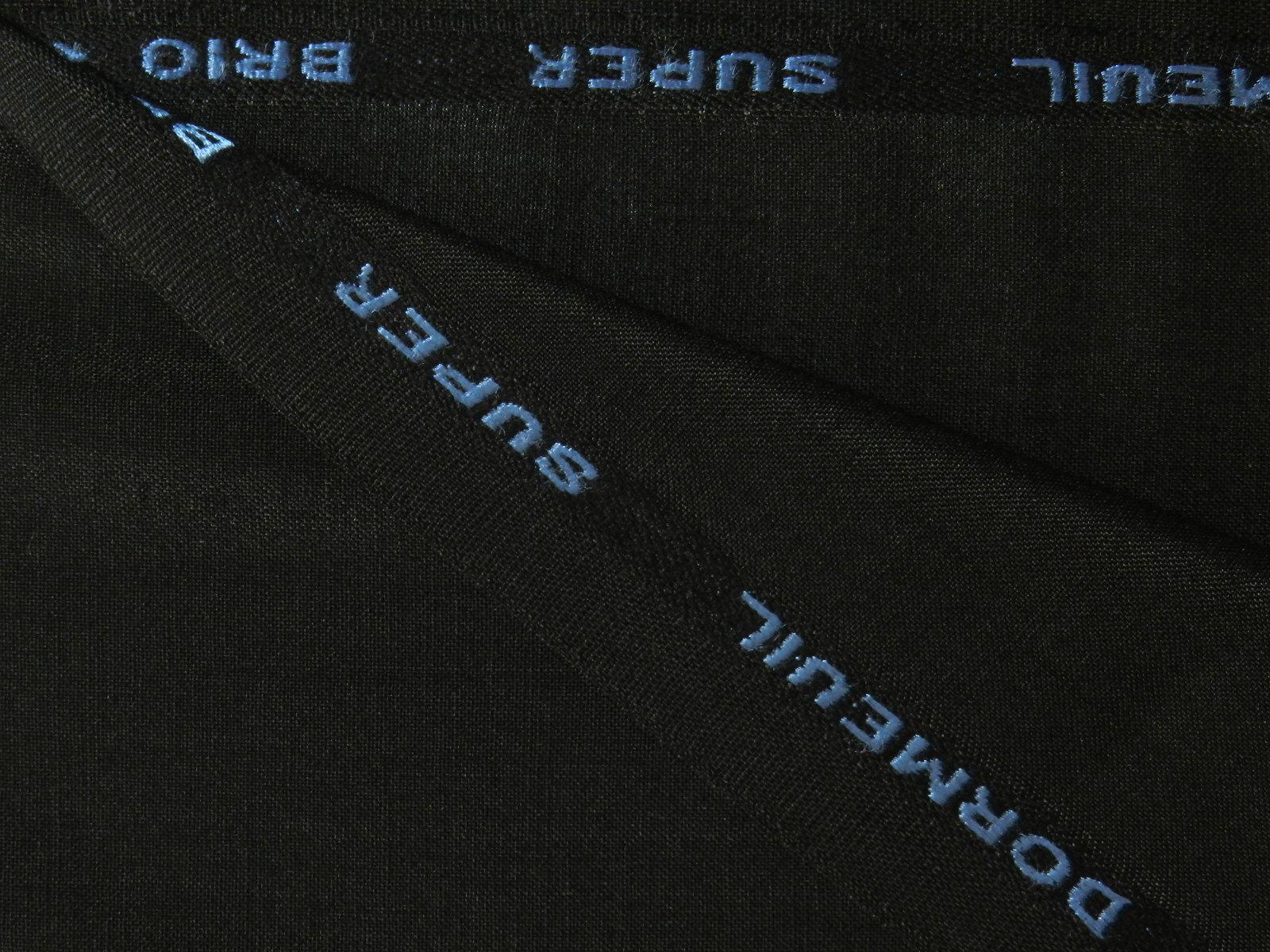 DORMEUIL(ドーメル) / SUPER BRIO / ENGLAND / モヘア / ブラック 系 / 織り柄 系
