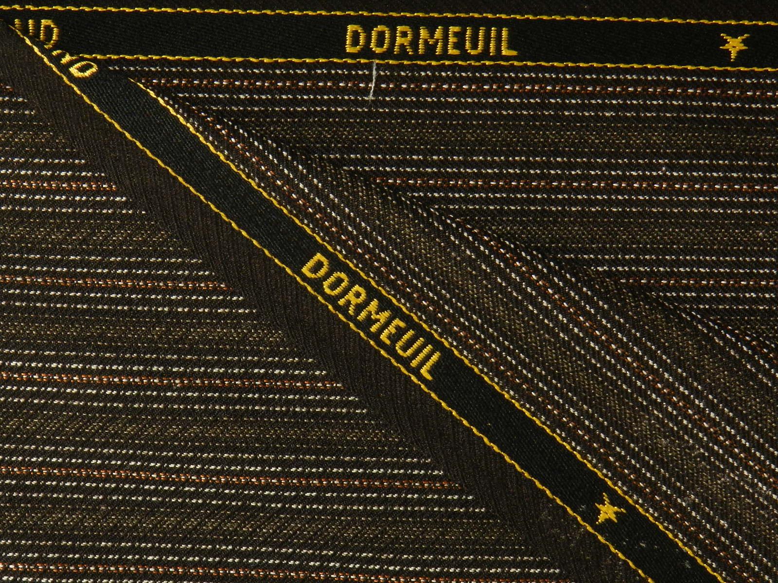 DORMEUIL(ドーメル) / ENGLAND / ブラウン 系 / ストライプ 系