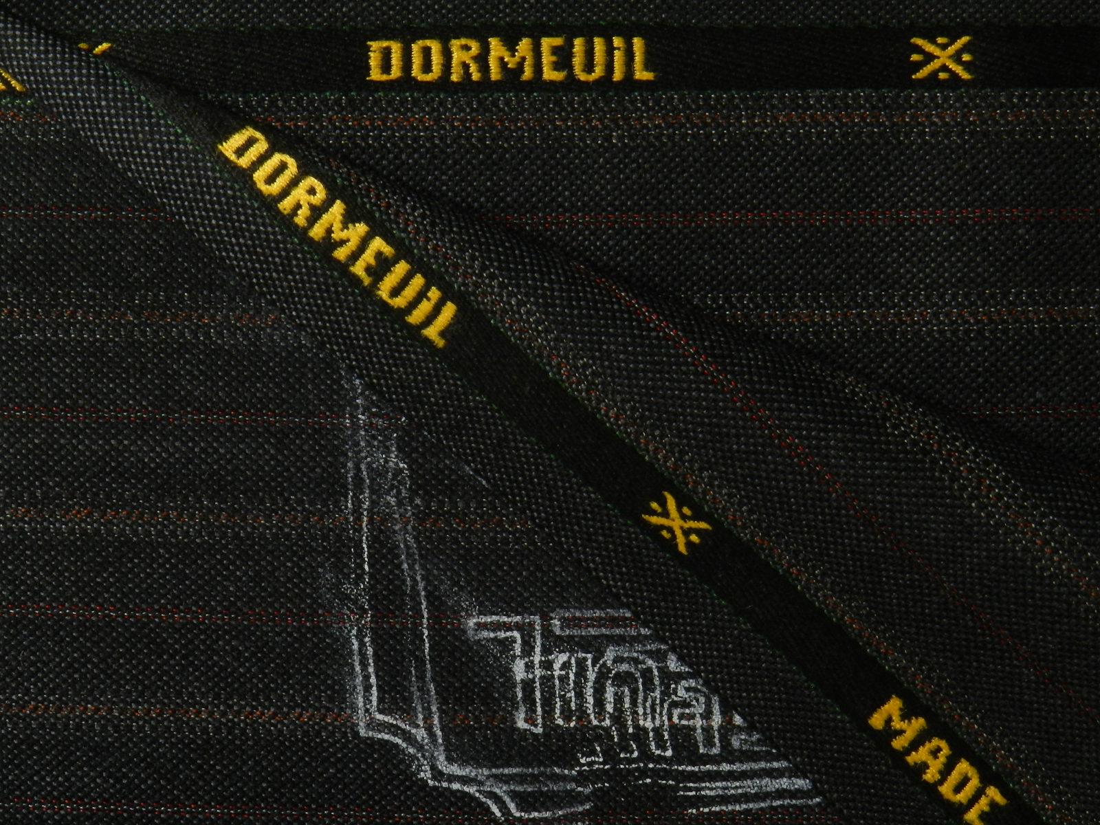 DORMEUIL(ドーメル) / ENGLAND / ブラック 系 / ストライプ 系