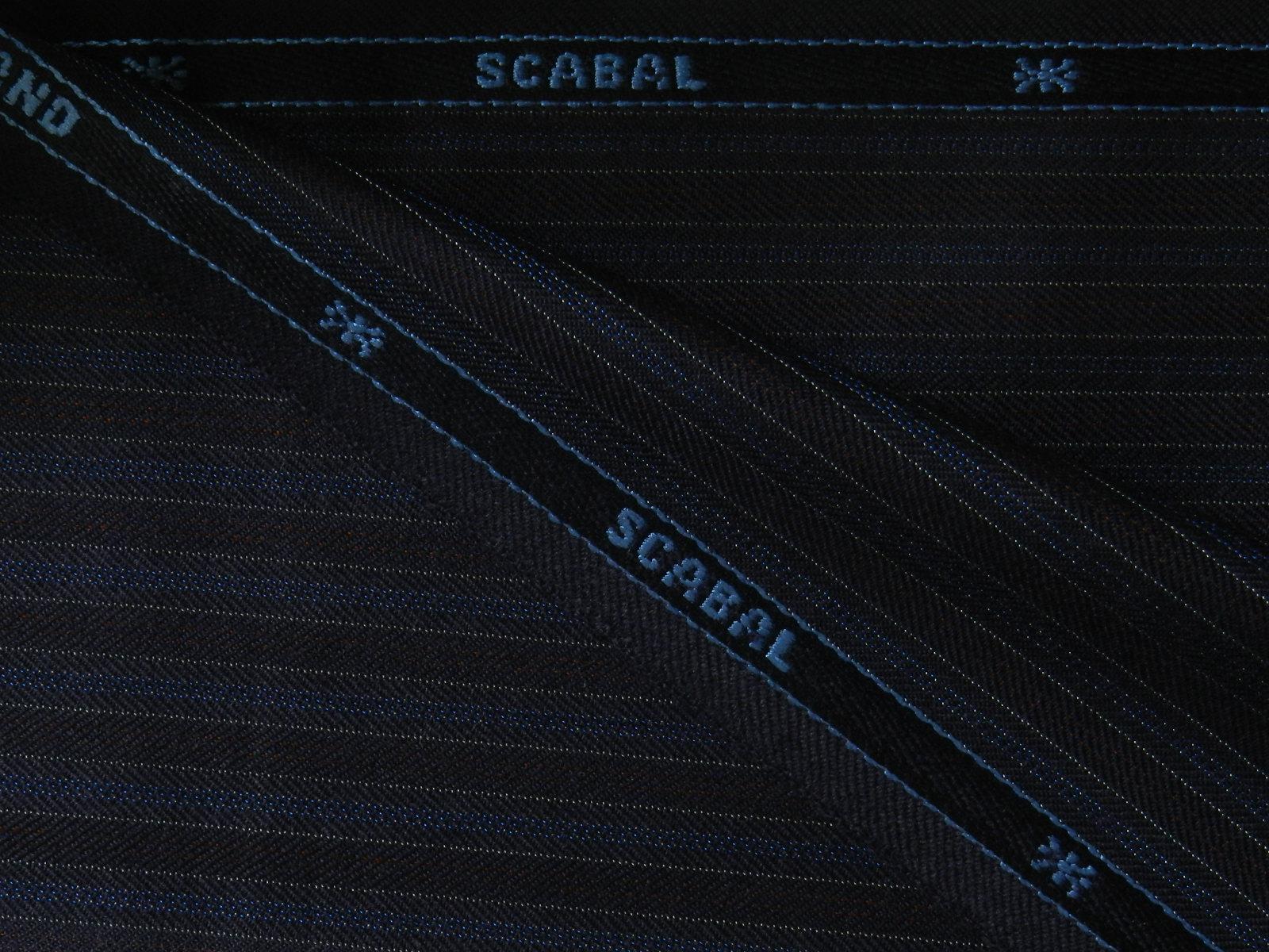 SCABAL(スキャバル) / ENGLAND / ネイビー 系 / ストライプ 系