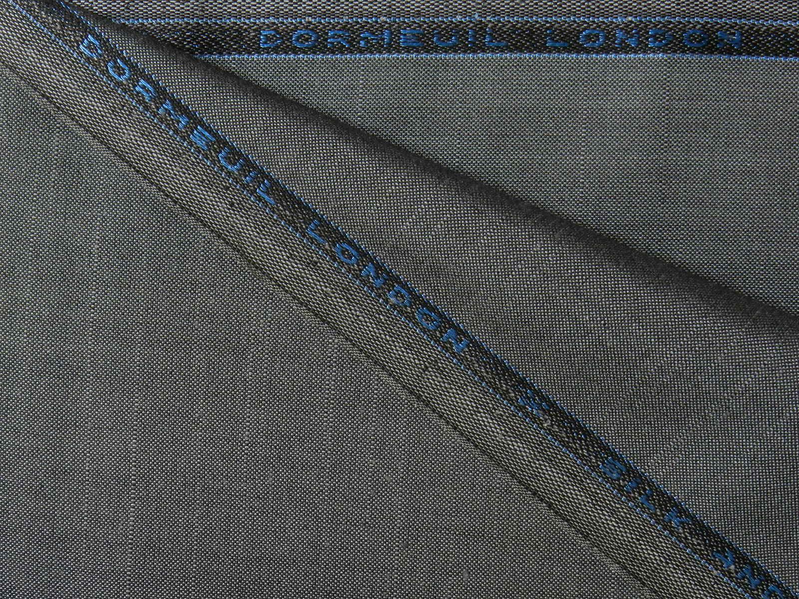 DORMEUIL(ドーメル) / シルク / ウール / グレー 系 / 織り柄 系